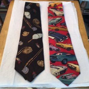 What men are all about- sports/cars ties